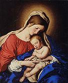Sassoferrato Madonna col Bambino1