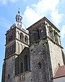 Saulieu (21) Basilique Saint-Andoche - Extérieur - 02.jpg