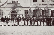 Elsterwerdaer Schützengilde um 1898