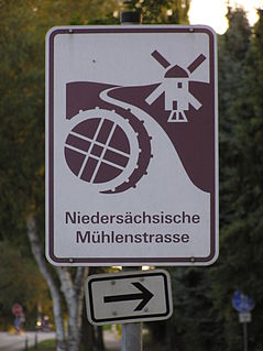 Lower Saxon Mill Road Holidays street in Lower Saxony
