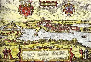 Schleswig, Schleswig-Holstein - Schleswig in 1600