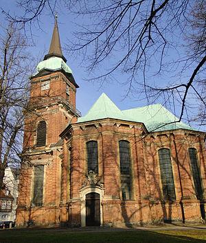Schelf Church - The Schelf Church of St. Nicholas