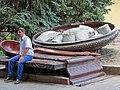 Sculpture of Poltavsky Holushki (Dumpling Soup) - Rotunda of Peoples' Friendship - Poltava - Ukraine (28887491597).jpg