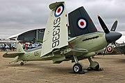 Seafire F XVII SX 336 wings up