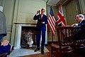 Secretary Kerry Puts Away the Benjamin Franklin Medal for Leadership Upon Receiving It in London (30056450773).jpg