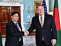 Secretary Pompeo Meets With Bangladeshi Foreign Minister Momen (47512344132).jpg