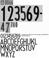 Security license plate font Arkansas deco 1938 numbers.png