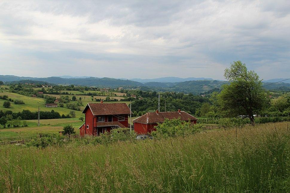 Selo Zlatarić - opština Valjevo - zapadna Srbija - Panorama 12