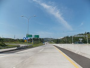 Semarang–Solo Toll Road - Semarang Solo Toll Road, Ungaran Interchange
