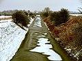 Semi-Frozen Burstwick Drain - geograph.org.uk - 1653502.jpg