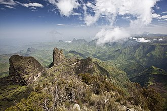 Ethiopian Highlands - Image: Semien Mountains 13