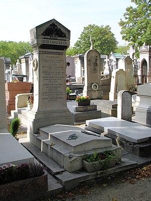 Aristide Cavaillé-Coll - Cavaillé-Coll's grave in Montparnasse Cemetery, Paris