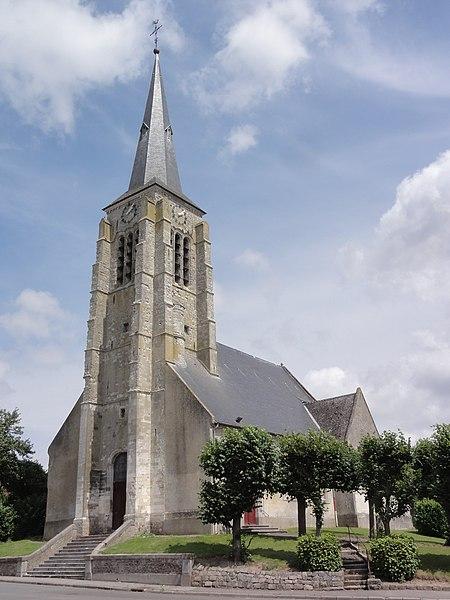 Serain (Aisne) église