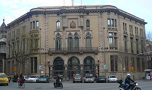 Eixample - District hall.
