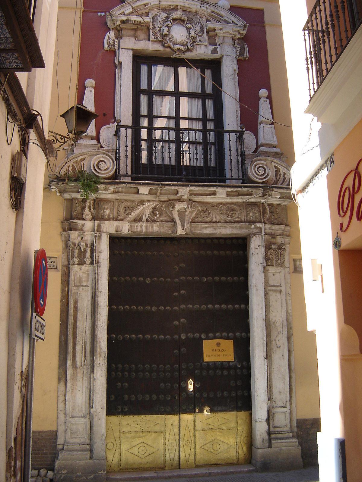 Palacio de la condesa de lebrija sevilla wikipedia la for Alquiler de casas en lebrija sevilla