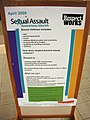 Sexual assault awareness month display (back right) (3429874036).jpg