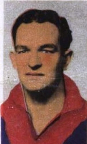 Shane McGrath (footballer, born 1919) - Image: Shane Mc Grath 1949
