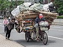 Shanghai recycling transport tricycle.jpg