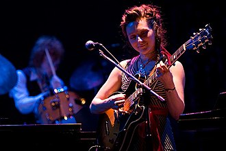 My Brightest Diamond - Shara Nova performing with My Brightest Diamond at the Pabst Theater in Milwaukee in 2006.