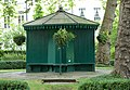 Shelter in private gardens, Dorset Square - geograph.org.uk - 1404538.jpg
