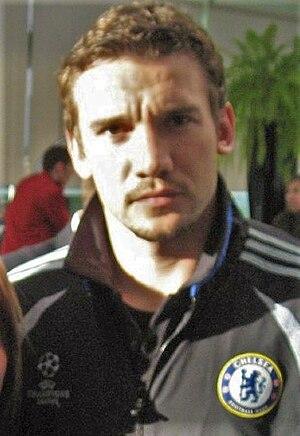 Andriy Shevchenko - Shevchenko with Chelsea in 2007.