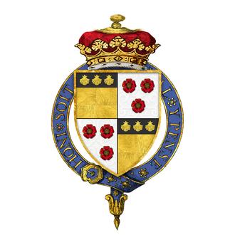 James Graham, 3rd Duke of Montrose - Shield of arms of James Graham, 3rd Duke of Montrose, KG, KT, PC