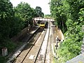 Shirley Station, Haslucks Green Road, Shirley - 150016 London Midland train (4746697166).jpg
