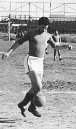 Maccabi Tel Aviv F.C. - Shmuel Ginzburg played for Maccabi Tel Aviv from 1936 to 1943 and contributed to the team's cup win in 1941.