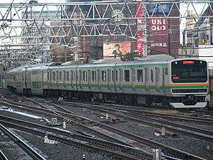 Shōnan–Shinjuku Line - Shōnan–Shinjuku line E231 series EMU