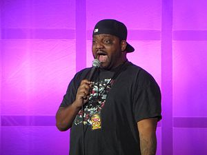 Aries Spears - Aries Spears performs at the Shoreline Comedy Jam in 2012
