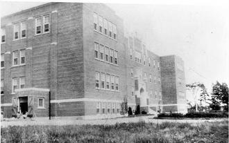 Shubenacadie Indian Residential School - Shubenacadie Indian Residential School, 1930, Nova Scotia Museum