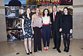 Sibel Kekilli with the Emersons February 2015.jpg