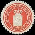 Siegelmarke Direction des Grossh. Hoftheaters Darmstadt W0338358.jpg