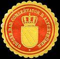Siegelmarke Grossherzoglich Badische Conservator der Alterthümer W0227221.jpg