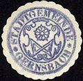 Siegelmarke Stadtgemeinde - Gernsbach W0229175.jpg