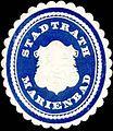 Siegelmarke Stadtrath Marienbad W0318421.jpg