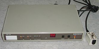 X.25 - An X.25 modem once used to connect to the German Datex-P network