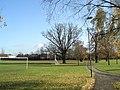 Sightscreen in Bidbury Mead - geograph.org.uk - 628391.jpg