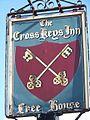 Sign for the Cross Keys Inn, Upper Chute - geograph.org.uk - 1002257.jpg