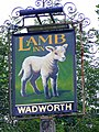 Sign for the Lamb Inn - geograph.org.uk - 1430929.jpg