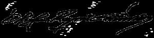 Ólafur Ragnar Grímsson - Image: Signature of Ólafur Ragnar Grímsson