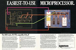Signetics 2650 8-bit microprocessor