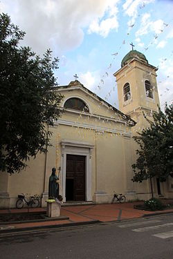 Church of San Simaco Papa.