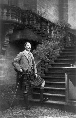 Simon Fraser, 14th Lord Lovat - Lord Lovat in 1908.