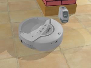 IRobot Create - Simulation of an iRobot Create in Webots