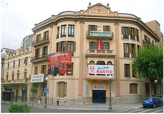 Workers' Commissions - Headquarters of CCOO and other unions in Tarragona.