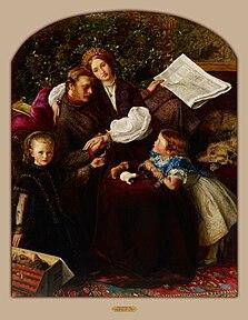 Sir John Everett Millais - Peace Concluded - Google Art Project