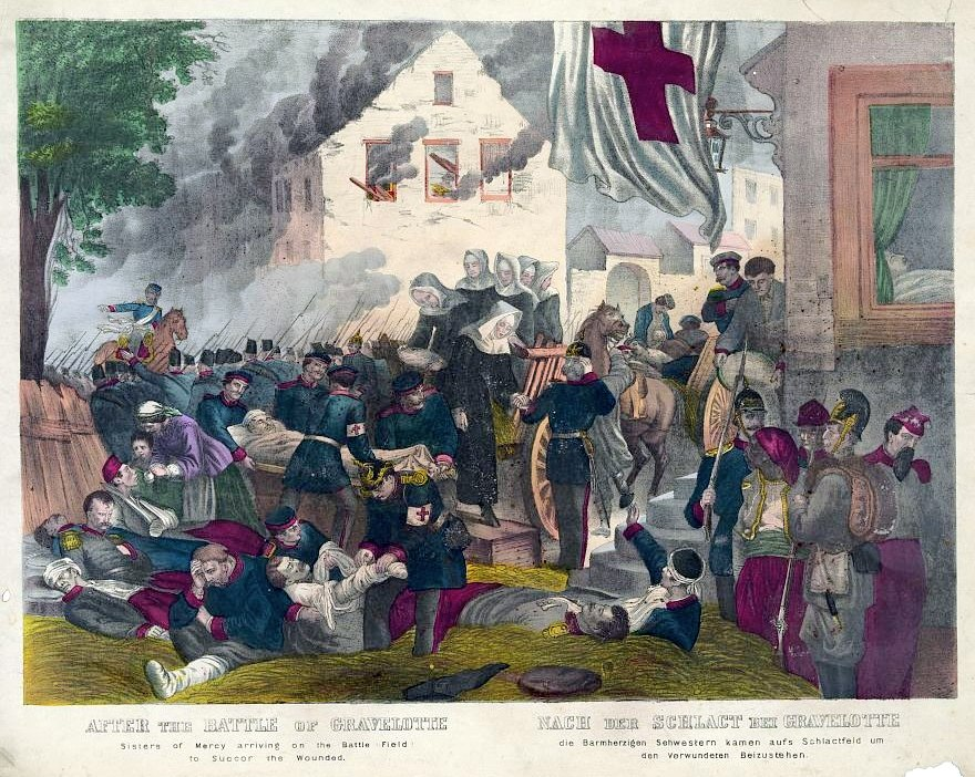 Sisters of Mercy at the Battle of Gravelotte