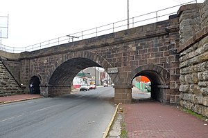 National Register of Historic Places listings in Berks County, Pennsylvania - Image: Skew Bridge