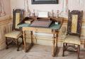 Skrivbord och ritbräde från 1600-talet - Skoklosters slott - 95161.tif